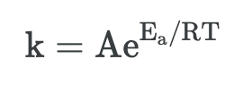 Activation Energy and Temperature Dependence